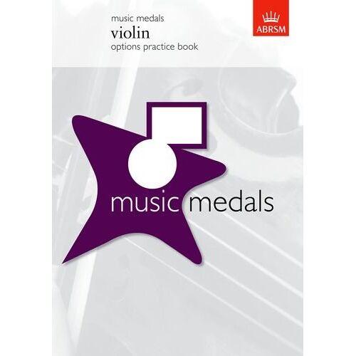 ABRSM - Music Medals Violin Options Practice Book: Options practice book (Abrsm Music Medals) - Preis vom 26.02.2021 06:01:53 h