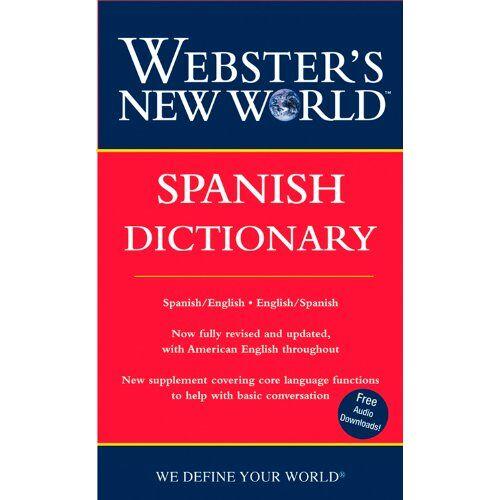 Harraps - Webster's New World Spanish Dictionary: Spanish/English English/Spanish - Preis vom 18.10.2020 04:52:00 h