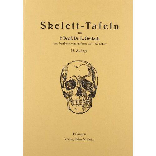 Leo Gerlach - Gerlach, L: Skelett-Tafeln - Preis vom 05.09.2020 04:49:05 h