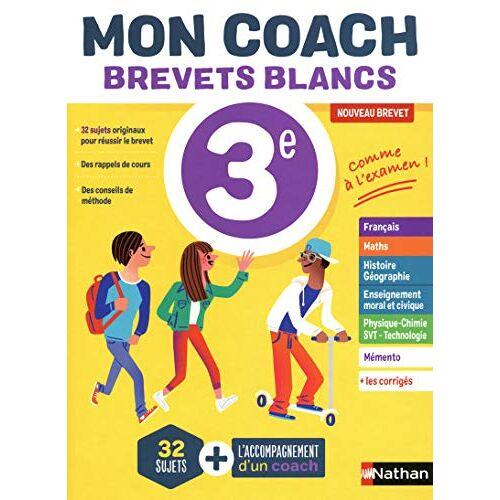 Collectif - Mon coach Brevets blancs 3e - Preis vom 14.04.2021 04:53:30 h