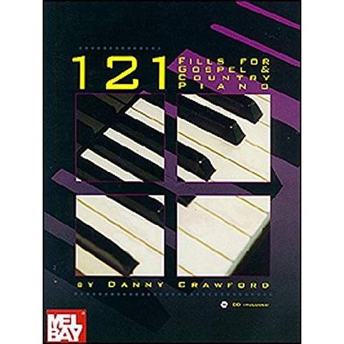 Danny Crawford - 121 Fills for Gospel & Country Piano - Preis vom 19.01.2021 06:03:31 h