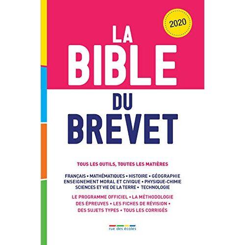 Collectif - La Bible du Brevet 2020 (Bible du bac/brevet) - Preis vom 14.04.2021 04:53:30 h