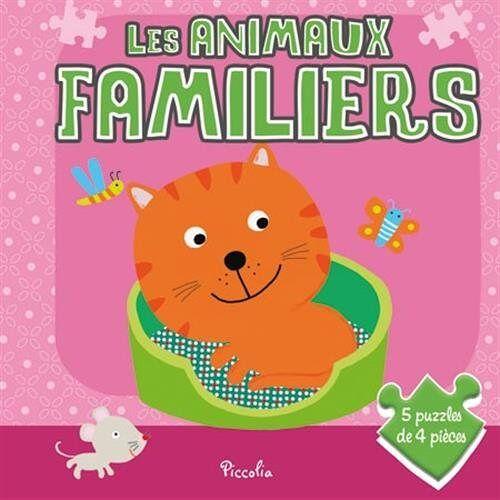 - Les animaux familiers : Avec 5 puzzles de 4 pièces - Preis vom 05.03.2021 05:56:49 h