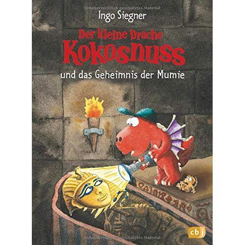 Ingo Siegner - Der kleine Drache Kokosnuss und das Geheimnis der Mumie: Mit Wackelbild-Cover (Bände mit Wackelbildcover, Band 10) - Preis vom 09.04.2021 04:50:04 h