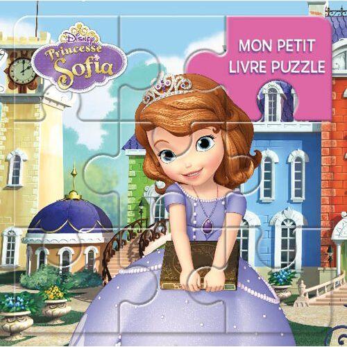 Disney Junior - Mon petit livre puzzle Princesse Sofia - Preis vom 24.02.2021 06:00:20 h