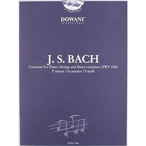 - Bach: Concerto for Piano, Strings and Basso Continuo Bwv 1056 in F Minor - Preis vom 12.04.2021 04:50:28 h