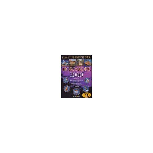 Erika Sauer - Das Superbuch der Horoskope 2000 - Preis vom 20.10.2020 04:55:35 h