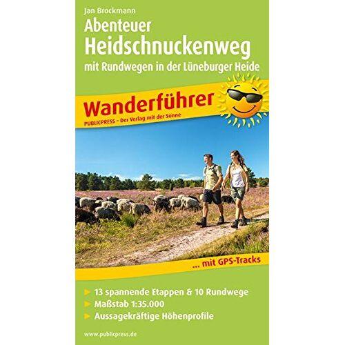 Jan Brockmann - Wanderführer / WF: Abenteuer Heidschnuckenweg mit Rundwegen in der Lüneburger Heide: Wanderführer mit GPS-Tracks, 13 spannenden Etappen & 10 Rundwegen - Preis vom 15.04.2021 04:51:42 h