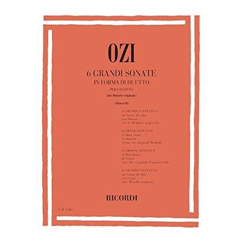 - 6 Grandi Sonate. Fagott - Preis vom 24.02.2021 06:00:20 h