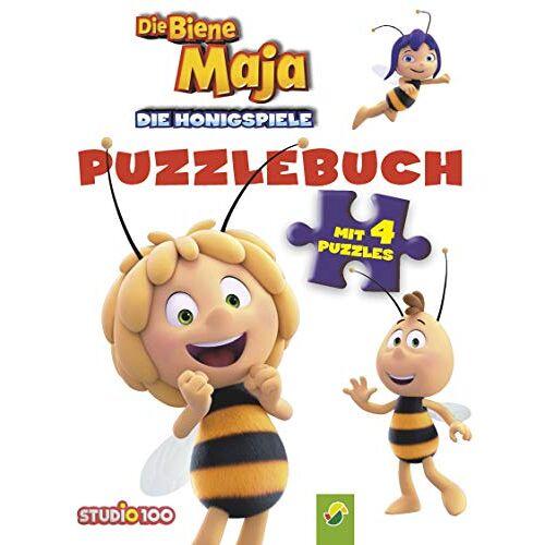 Lena Steinfeld - Biene Maja Die Honigspiele Puzzlebuch: Mit 4 Puzzles á 6 Teilen - Preis vom 16.01.2020 05:56:39 h