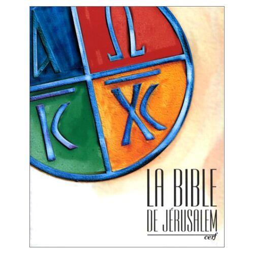 Collectif - La Bible de Jérusalem (Bible Jerusalem) - Preis vom 26.02.2021 06:01:53 h