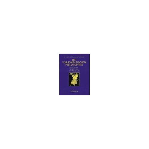 Kirk, Geoffrey S. - Die Vorsokratischen Philosophen - Preis vom 11.05.2021 04:49:30 h