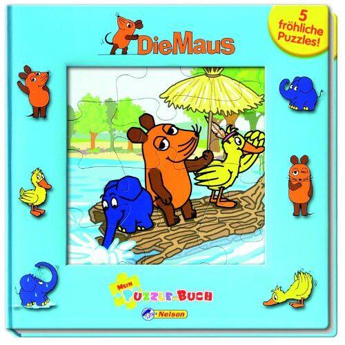 Avalon Hansen - Die Maus - Mein Puzzle-Buch: 5 fröhliche Puzzles! - Preis vom 22.02.2021 05:57:04 h
