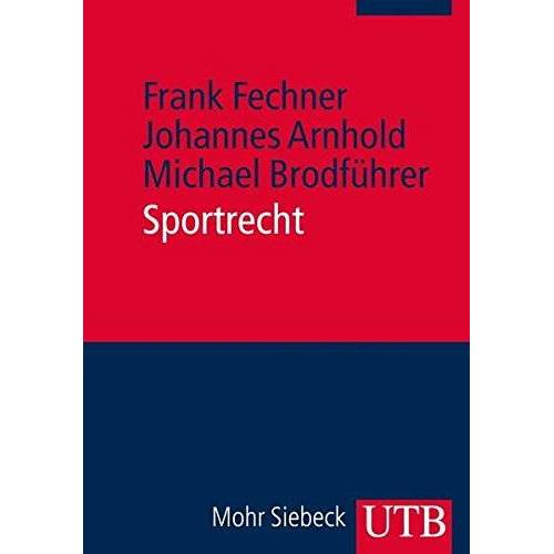 Frank Fechner - Sportrecht - Preis vom 06.03.2021 05:55:44 h