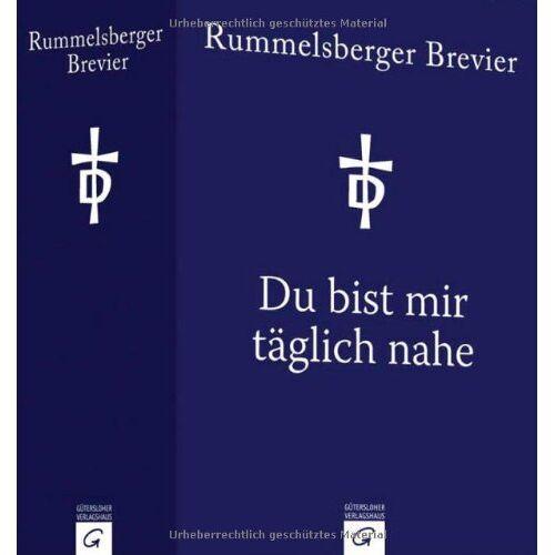 Helmut Millauer - Du bist mir täglich nahe: Rummelsberger Brevier - Preis vom 26.02.2021 06:01:53 h