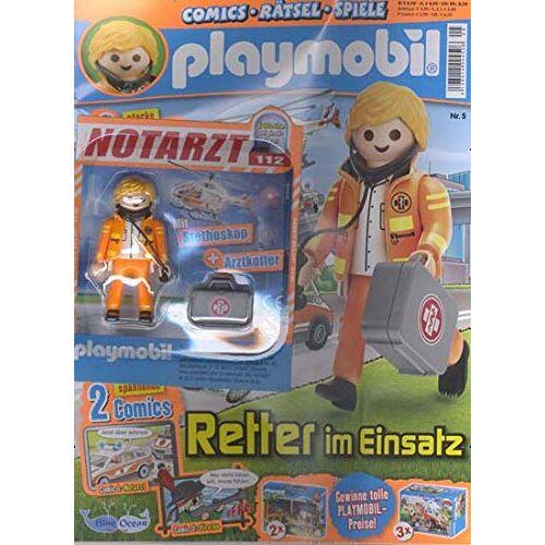 Playmobil Blau - Playmobil Blau 5/2019 Retter im Einsatz - Preis vom 19.01.2021 06:03:31 h