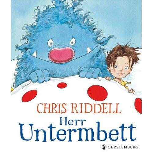 Chris Riddell - Herr Untermbett - Midi-Ausgabe - Preis vom 21.04.2021 04:48:01 h