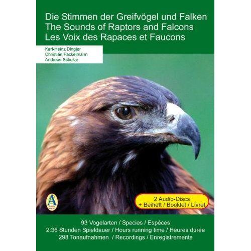 Vogelstimmen - Vogelstimmen-Greifvögel & Falken - Preis vom 15.04.2021 04:51:42 h