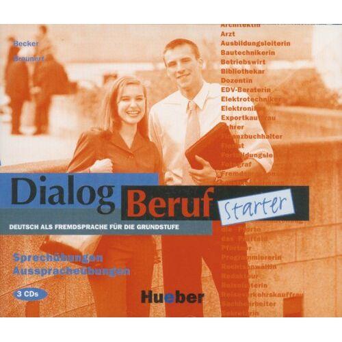 Norbert Becker - Dialog Beruf Starter - Sprechübungen und Ausspracheübungen. 3 CD-Audio: Cds (3) - Sprechubungen - Preis vom 25.02.2021 06:08:03 h