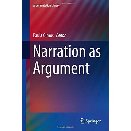 Paula Olmos - Narration as Argument (Argumentation Library) - Preis vom 06.09.2020 04:54:28 h