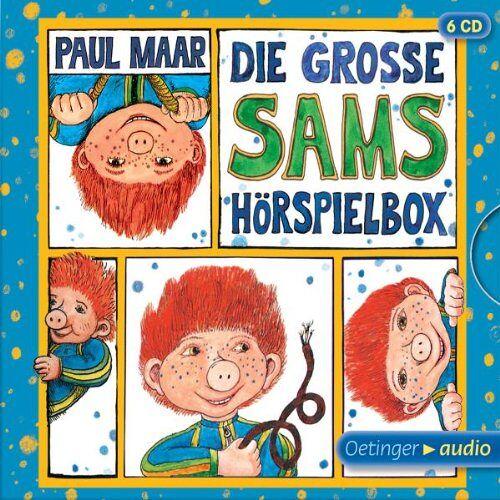 Paul Maar - Die große Sams-Hörspielbox: 4 Hörspiele - Preis vom 22.02.2020 06:00:29 h