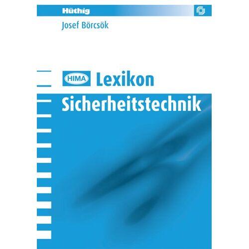 Josef Börcsök - HIMA Lexikon Sicherheitstechnik - Preis vom 10.04.2021 04:53:14 h