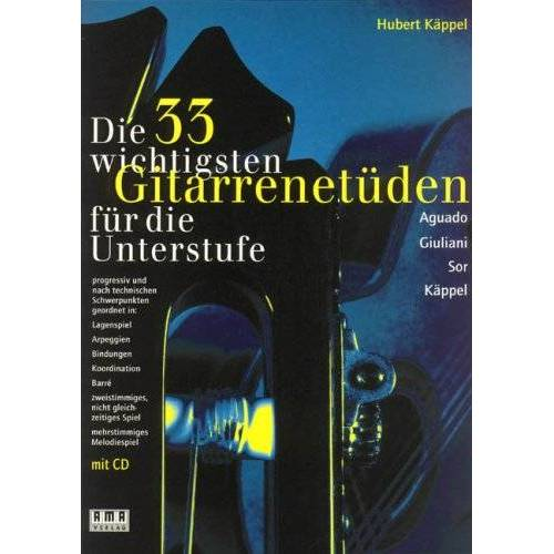 - Die 33 Wichtigsten Gitarrenetueden. Gitarre - Preis vom 20.10.2020 04:55:35 h