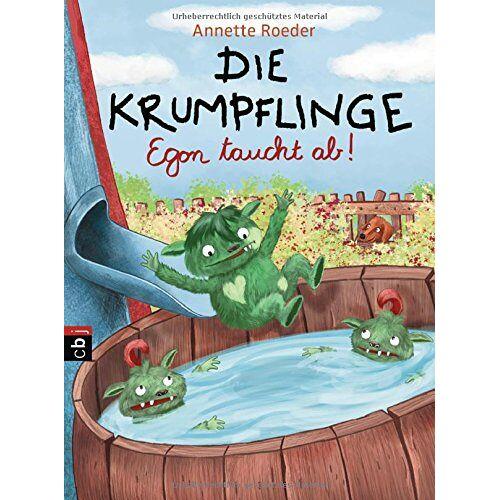 Annette Roeder - Die Krumpflinge - Egon taucht ab (Die Krumpflinge - Serie, Band 4) - Preis vom 12.04.2021 04:50:28 h