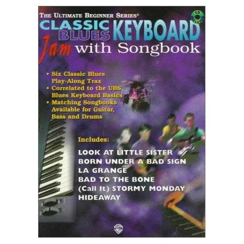 Alfred Publishing - Classic Blues Keyboard: Jam With Songbook (The Ultimate Beginner Series) - Preis vom 18.04.2021 04:52:10 h