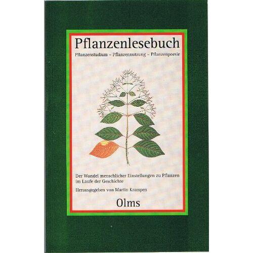 Martin Krampen - Pflanzenlesebuch. Pflanzenstudium - Pflanzennutzung - Pflanzenpoesie - Preis vom 27.02.2021 06:04:24 h
