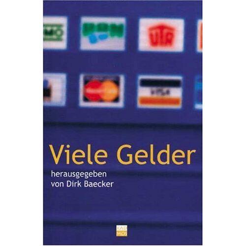 Dirk Baecker - Viele Gelder - Preis vom 18.04.2021 04:52:10 h