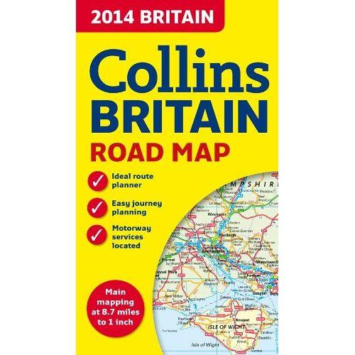 Collins - Collins 2014 Britain Road Map (Collins Road Map) - Preis vom 18.10.2020 04:52:00 h