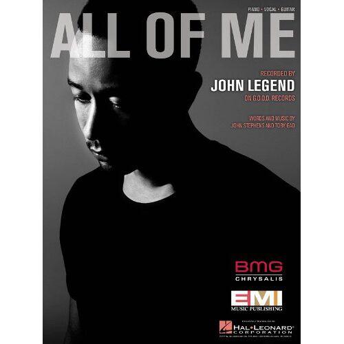 - John Legend: All Of Me (PVG). Für Klavier, Gesang & Gitarre - Preis vom 11.05.2021 04:49:30 h