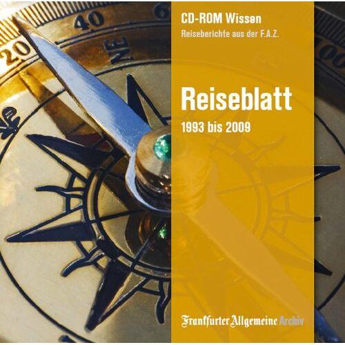 - Reiseblatt 1993 -2009: Reiseberichte aus der F.A.Z. - Preis vom 05.09.2020 04:49:05 h