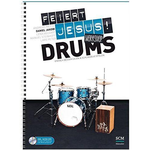Daniel Jakobi - Feiert Jesus! Workshop Drums: Einfach besser Cajon & Schlagzeug spielen - Preis vom 20.10.2020 04:55:35 h