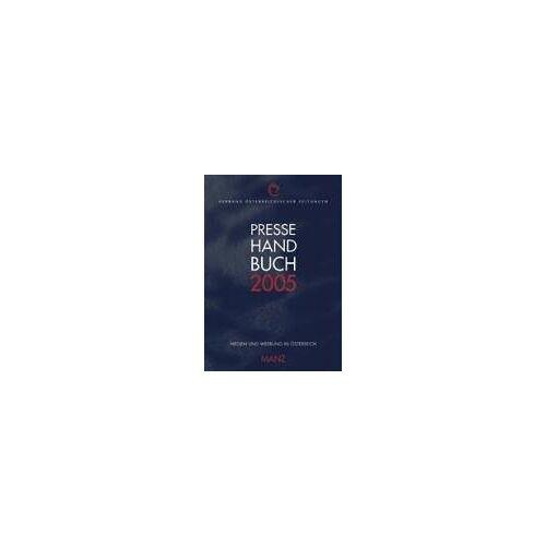 - Pressehandbuch 2005 - Preis vom 04.09.2020 04:54:27 h
