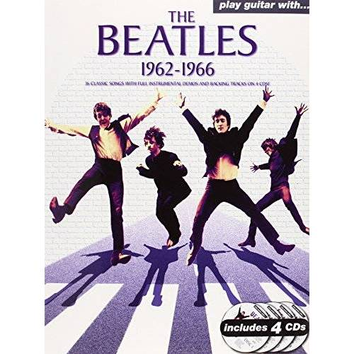 The Beatles - Play Guitar with... the Beatles 1962-1966 - Preis vom 24.02.2021 06:00:20 h