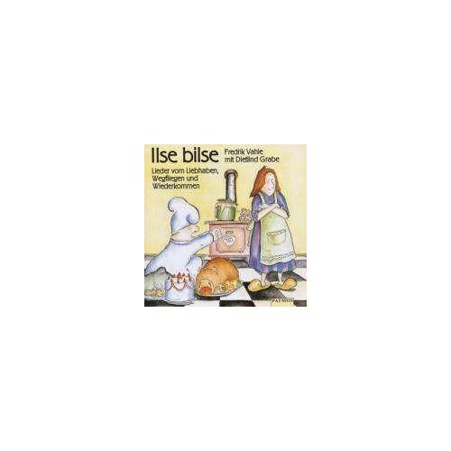 Fredrik Vahle - Ilse Bilse. CD: Lieder vom Liebhaben, Wegfliegen und Wiederkommen - Preis vom 13.04.2021 04:49:48 h