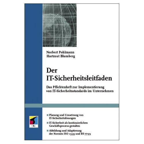 Norbert Pohlmann - Der IT-Sicherheitsleitfaden. - Preis vom 21.01.2021 06:07:38 h