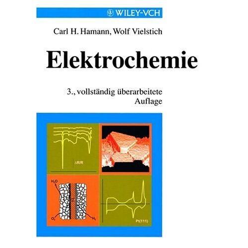 Hamann, Carl H. - Elektrochemie - Preis vom 05.05.2021 04:54:13 h