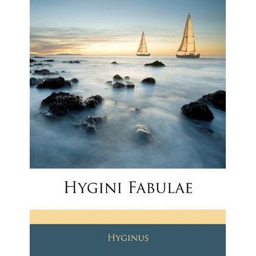 Hyginus - Hygini Fabulae - Preis vom 21.10.2020 04:49:09 h