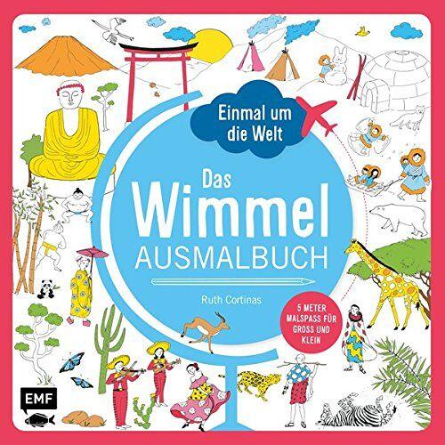 - Einmal um die Welt - Das Wimmel-Ausmalbuch - Preis vom 06.04.2021 04:49:59 h