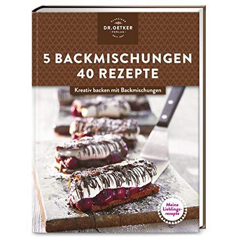 - Meine Lieblingsrezepte: 5 Backmischungen – 40 Rezepte: Kreativ backen mit Backmischungen - Preis vom 10.04.2021 04:53:14 h