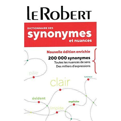 - Dictionnaire des synonymes et nuances - poche (SYNONYMES & NUANCES POCHE) - Preis vom 18.10.2020 04:52:00 h