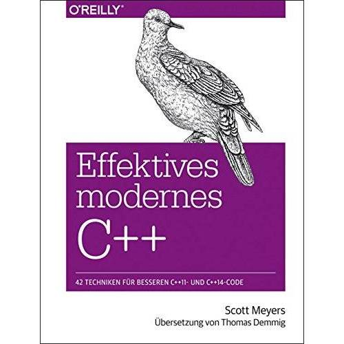 Scott Meyers - Effektives modernes C++ - Preis vom 18.10.2020 04:52:00 h