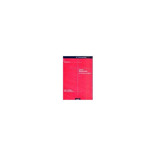 Glattfelder, Adolf H - Lineare Regelsysteme - Preis vom 11.04.2021 04:47:53 h