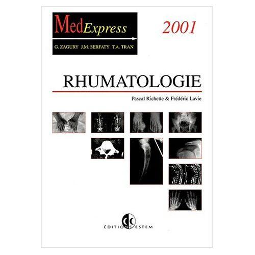 Frédéric Lavie - Rhumatologie. Edition 2001 (Medexpress) - Preis vom 25.01.2021 05:57:21 h