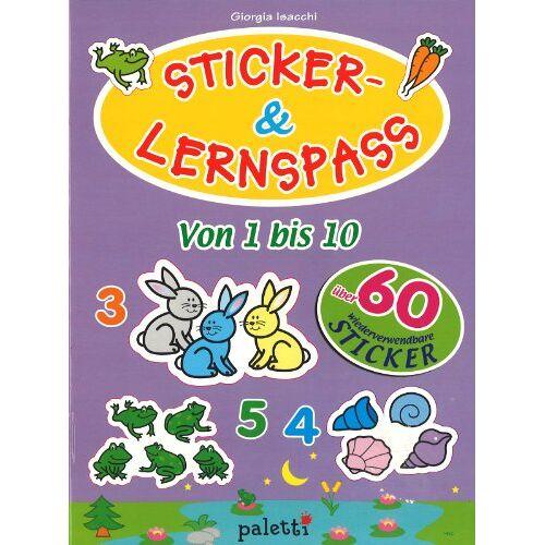 Paletti - Sticker- & Lernspass - Von 1 bis 10 - Preis vom 13.05.2021 04:51:36 h