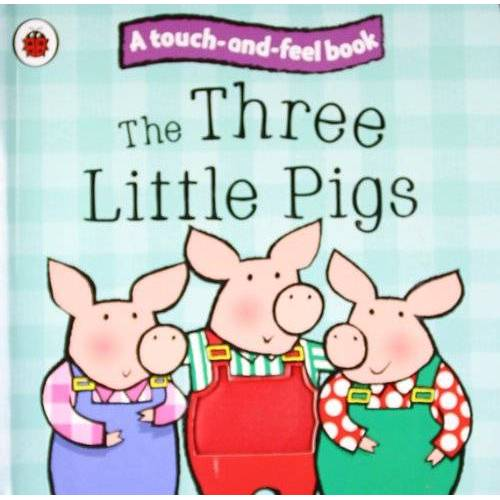 Ladybird - The Three Little Pigs: Ladybird Touch and Feel Fairy Tales (Ladybird Tales) - Preis vom 23.02.2021 06:05:19 h