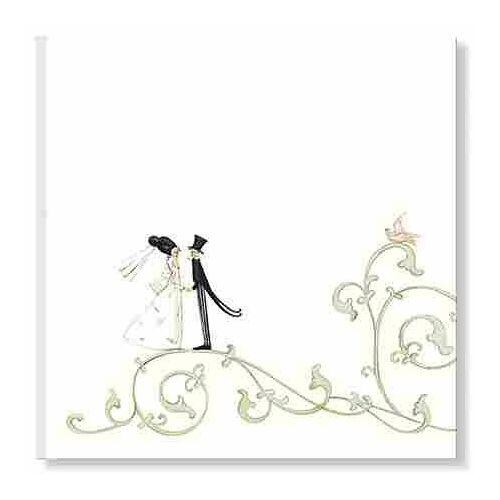- Edel-Gästebuch Motiv Hochzeit Arabesk - Preis vom 09.04.2020 04:56:59 h